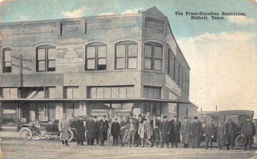 Tx 1910 S Rare The Trans Canadian Sanitarium At Dalhart Texas Texas Texas Homes Postcard