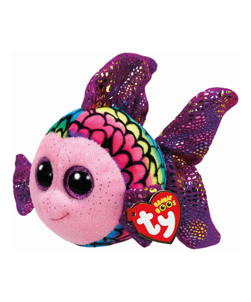 Ty flippy rainbow fish beanie baby rainbow fish and for Fish beanie baby