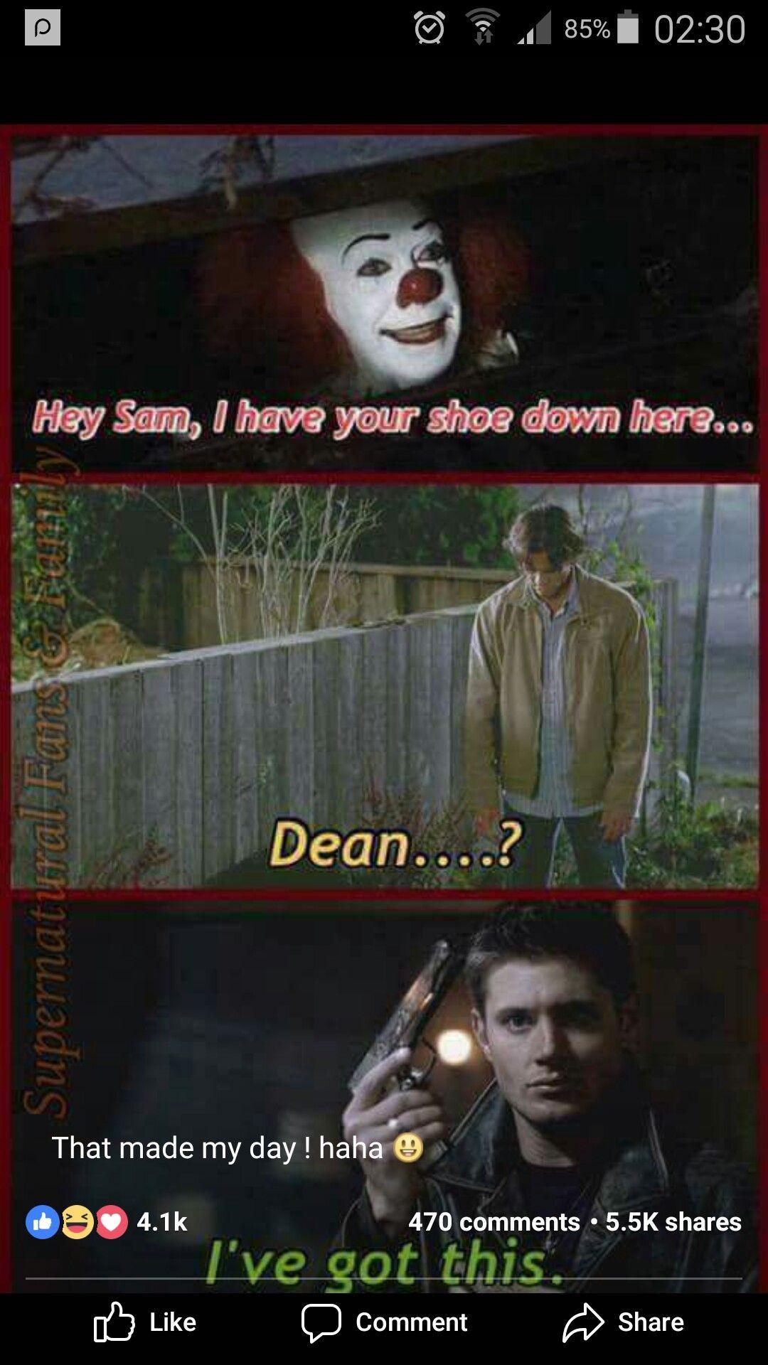 Funny Supernatural Background Funny Supernatural