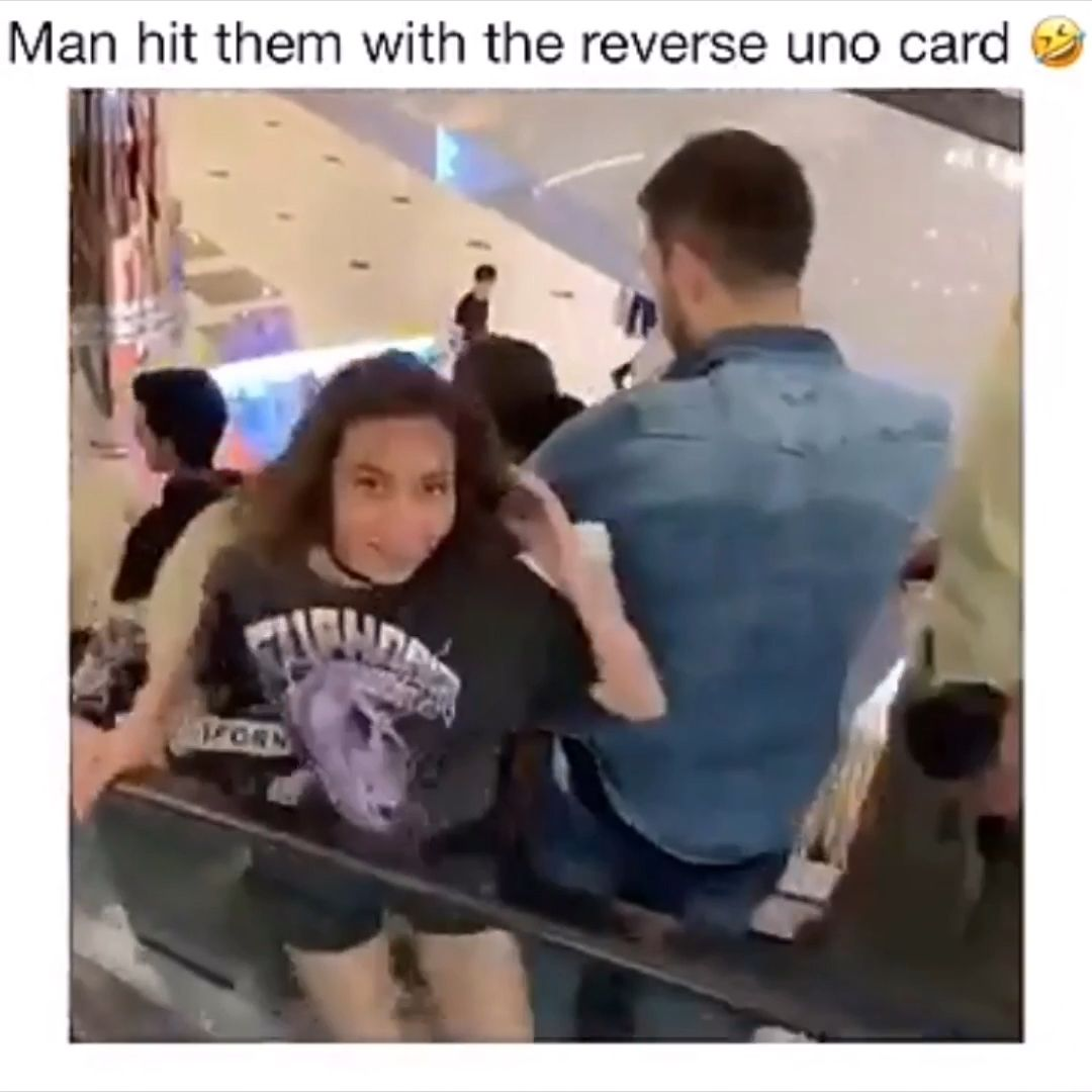 New Funny Videos  This dude got some villainous ass laugh but hold up..... That brunette chick wearing the choker stole the damn scene. Fine AF. 6