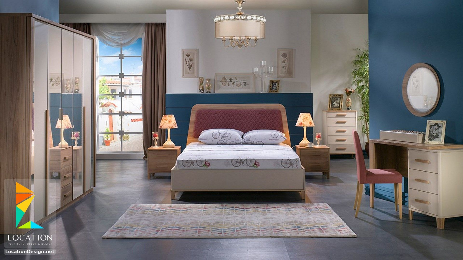 احدث موديلات و اشكال غرف نوم تركي 2019 2020 Bedroom Set Istikbal Furniture Bedroom Photos