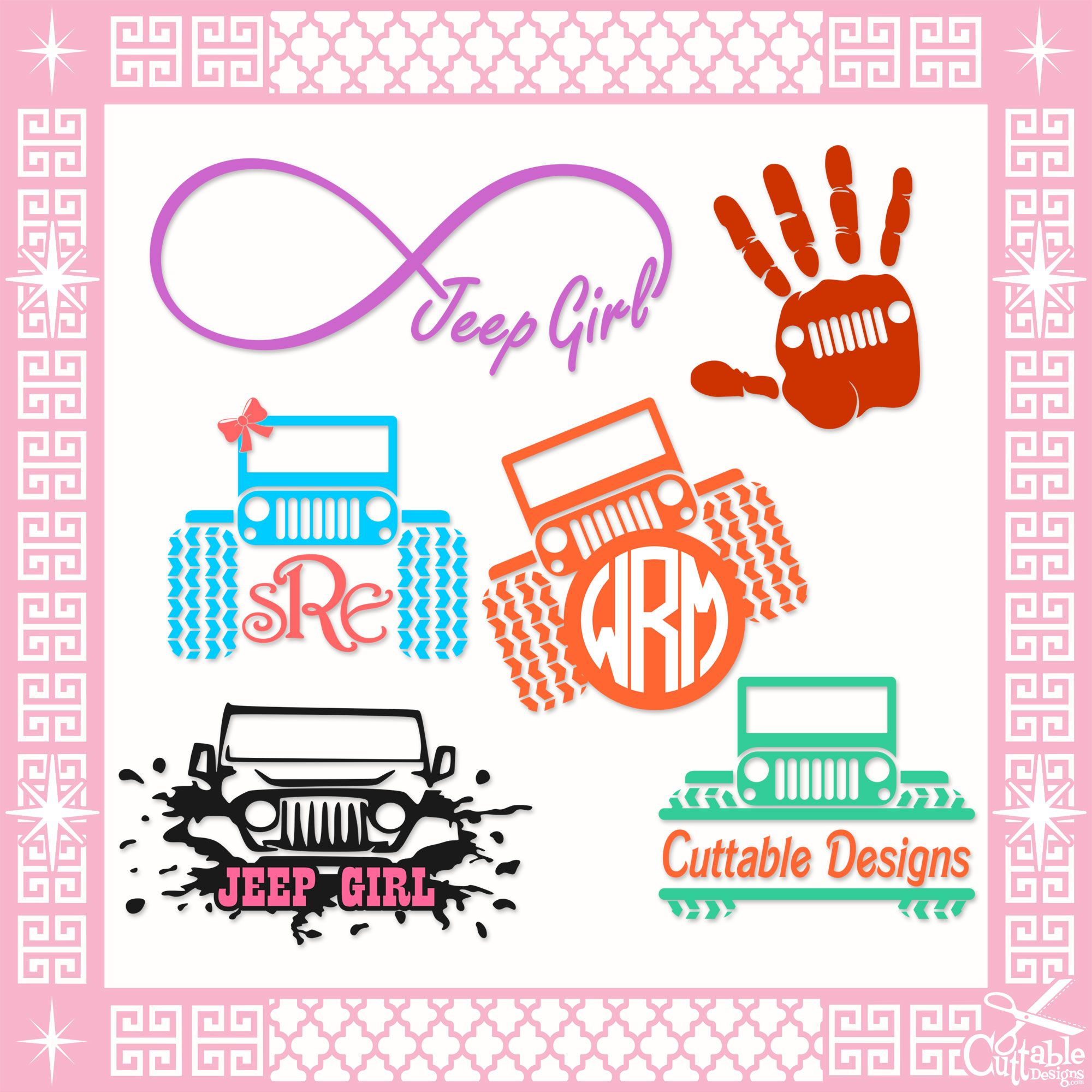 Jeep Svg Cuttable Designs Yet Another Hobby! Pinterest