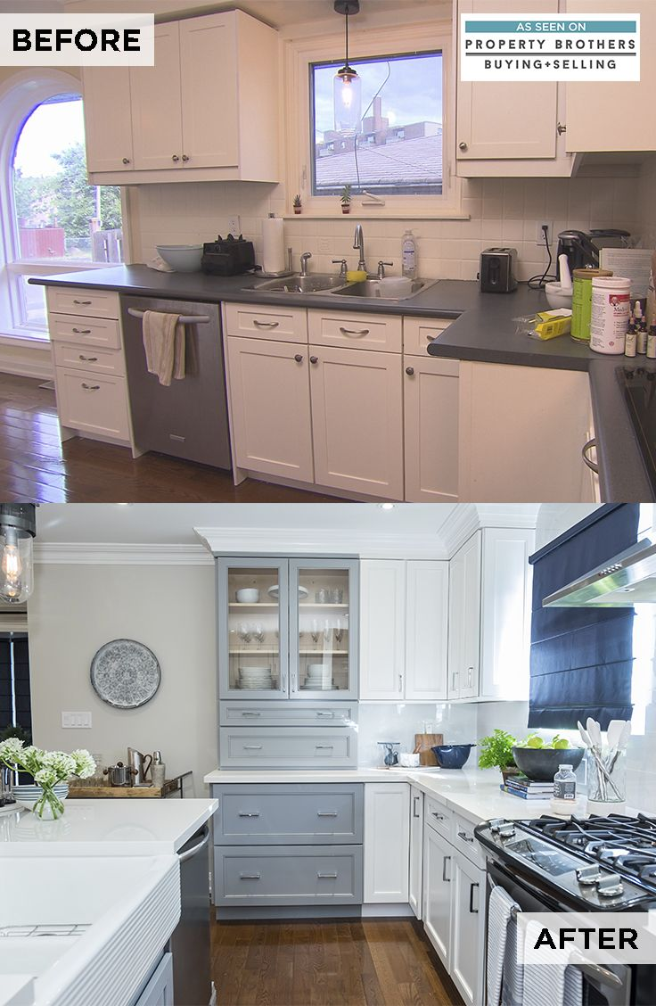 Are You Craving A Kitchen Renovation See The Transformation From An Episode Of Property Brothers Buying Condo Kitchen Kitchen Design Decor Kitchen Remodel