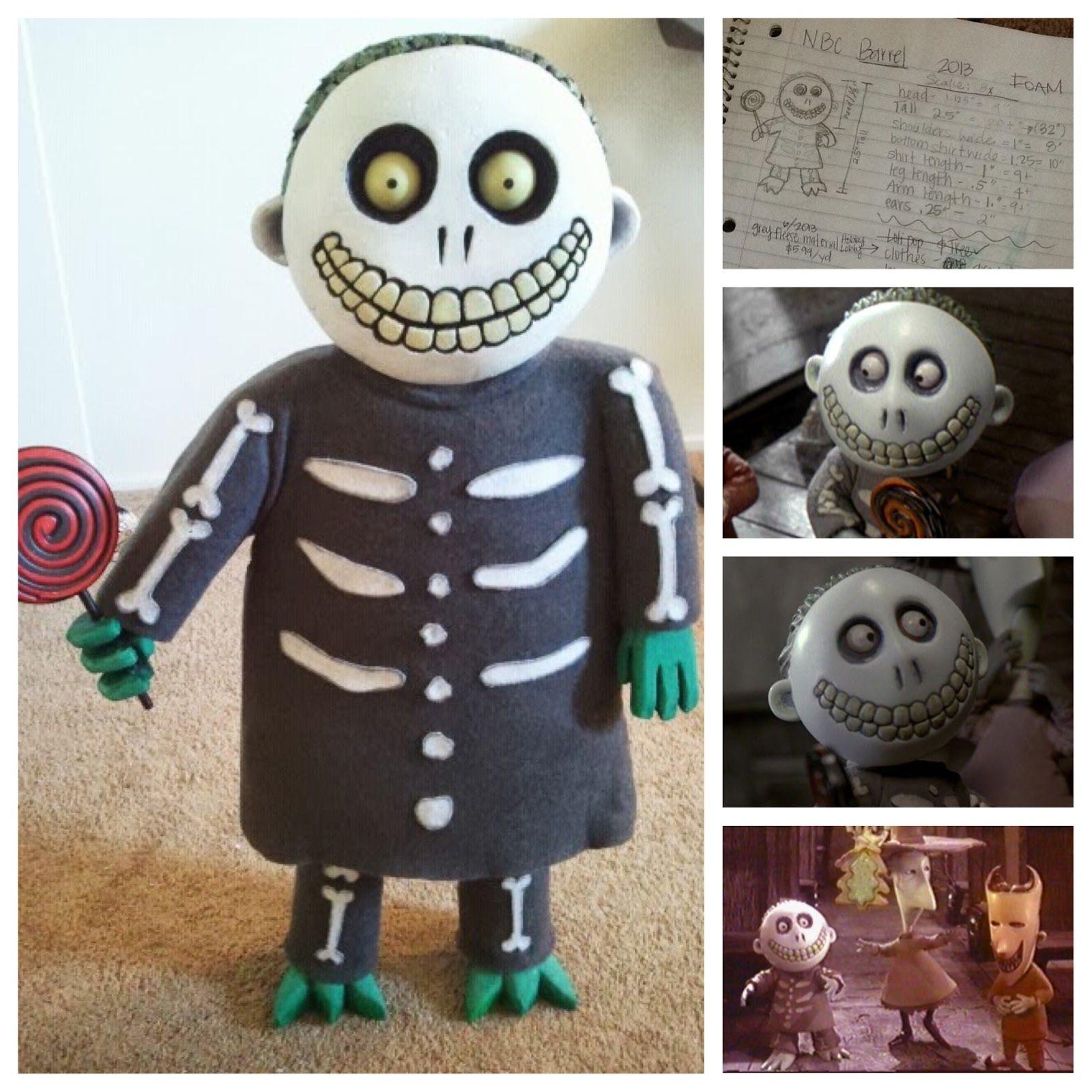 DIY Nightmare Before Christmas Halloween Props: Nightmare