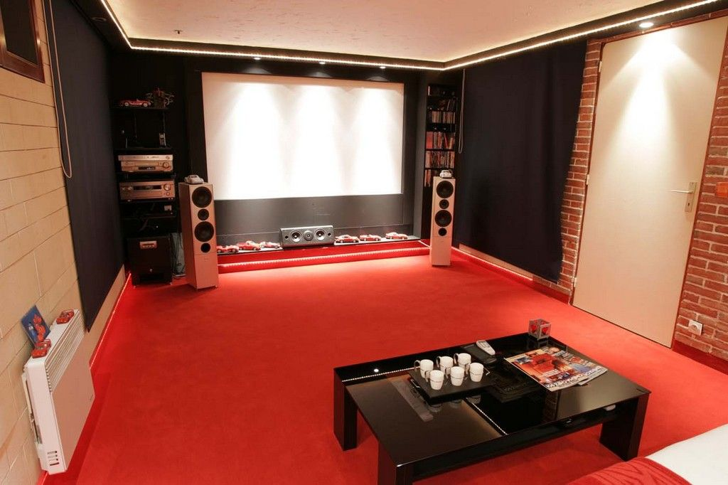le cin ma chez soi salle home cinema pinterest. Black Bedroom Furniture Sets. Home Design Ideas