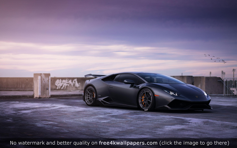 Lamborghini huracan on adv wheels 4k or hd wallpaper for - 4k car wallpaper for mobile ...