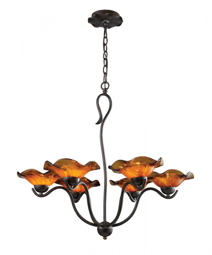 Guildwood lighting fireside in london ontario canada 90wy six light rust up chandelier villa weathered rust