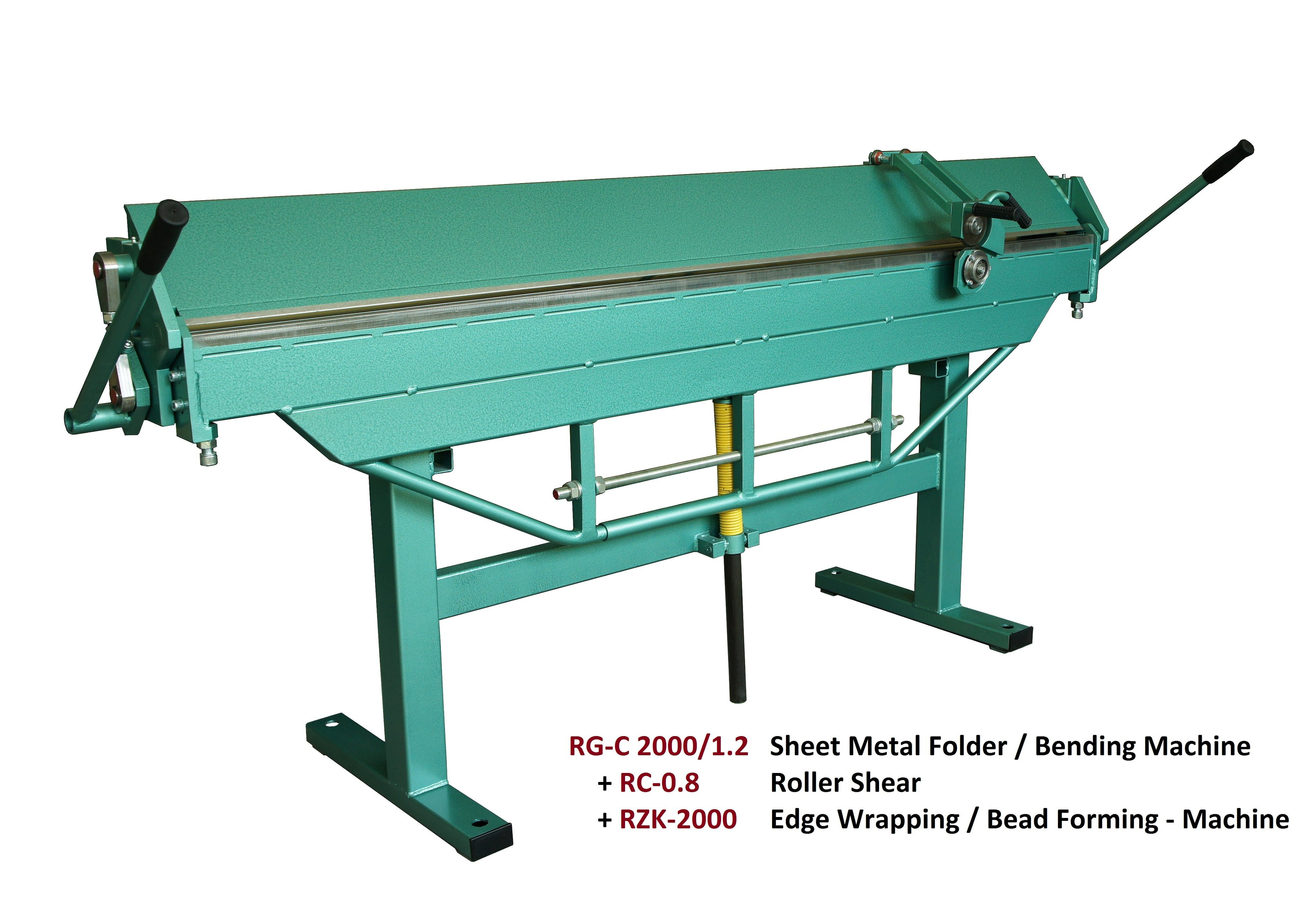 Type Rg C Sheet Metal Bending Machines Folders Metal Bending Metal Bending Tools Sheet Metal