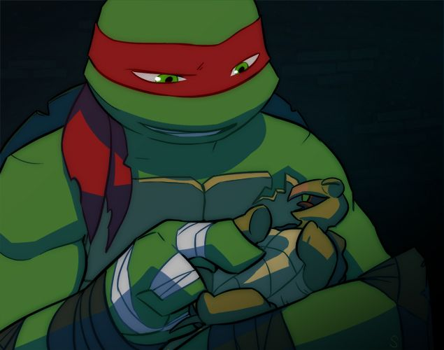 Hey There Little Guy By Sneefee On Deviantart Tmnt