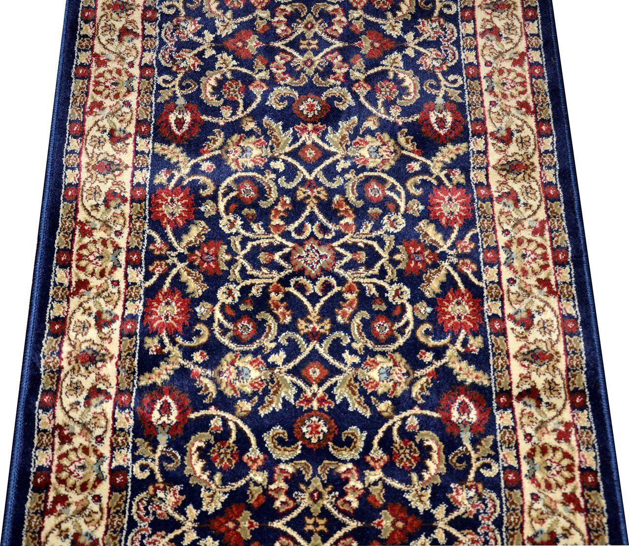Best Custom Carpet Runner Classic Keshan Navy Blue 31 400 x 300