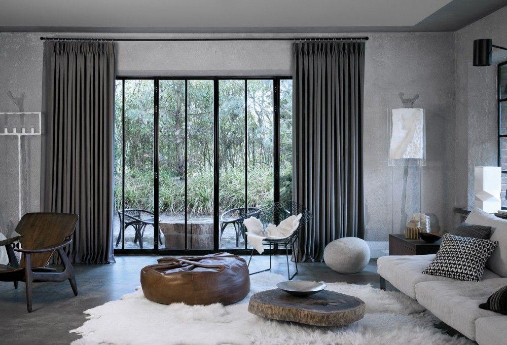 Copahome raamdecoratie gordijn overgordijn grijs la décoration de