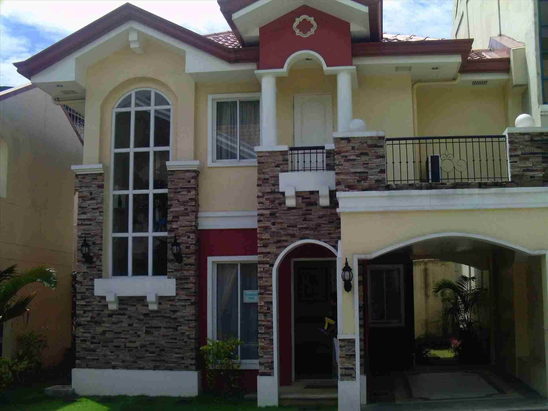 Philippines house design glass house design philippine houses 2 storey house design