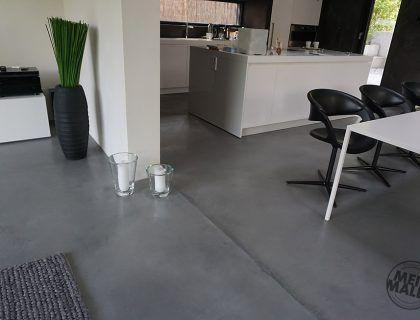 Fugenloser Boden boden kalkputz pastellone exclusives wohnhaus in edingen neckarhausen