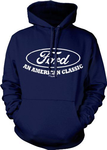 5ea97b2f Ford An American Classic Mens Sweatshirt, Officially Licensed Ford Pullover  Hoodie, Small, Navy « racedayproducts.com