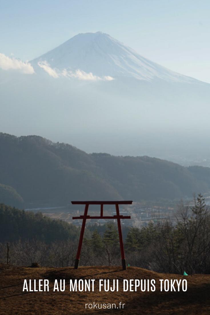 Découvrir le Mont Fuji depuis Tokyo : conseils, budget, itinéraires ... Toutes les informations pratiques et nécessaires ! #montfuji #fujisan #tokyo