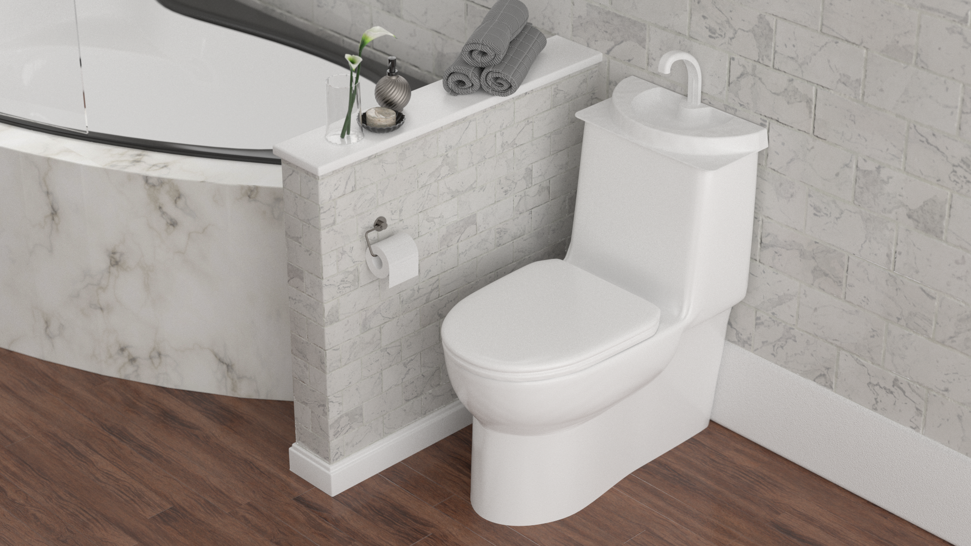 Toilet Tank Sink By Sinktwice