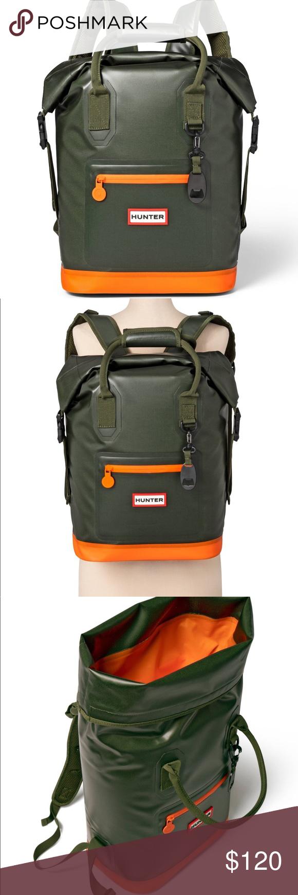 Hunter For Target Backpack Olive 17 L Cooler Hunter For Target Backpack Cooler Nwt Olive And Orange Never Us Target Backpack Cool Backpacks Insulated Backpack