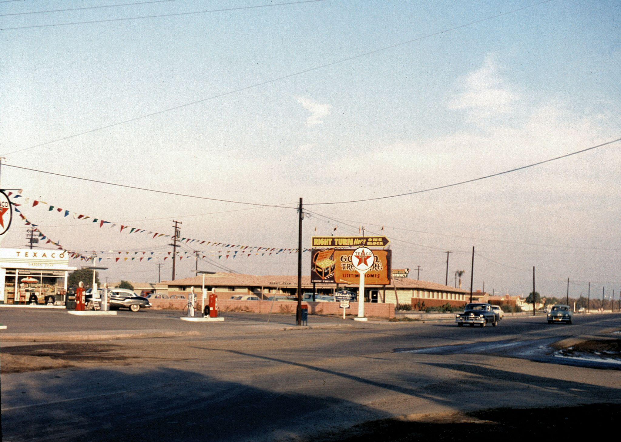 Ball rd at gilbert anaheim circa 1957 in 2020 orange