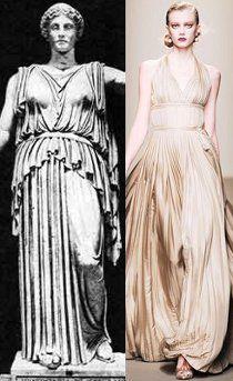Античный стиль платья