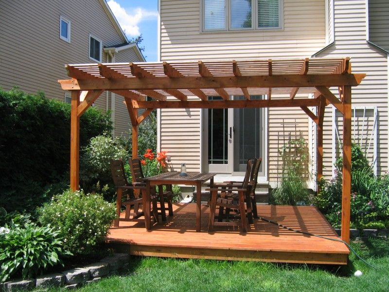 How To & Repair:How To Build A Gazebo On A Deck In The ...