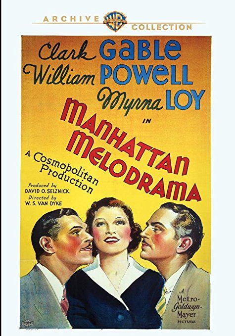 Manhattan Melodrama - DVD-R (Warner Archive On Demand Region