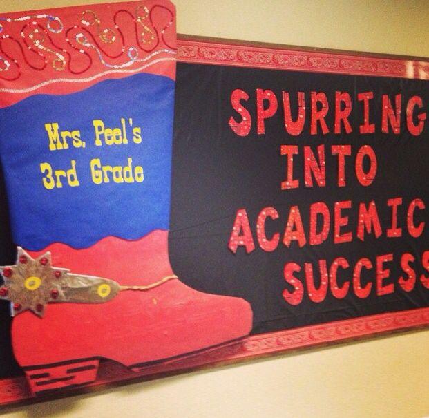 Rodeo Western Bulletin Board Teaching 5th Grade Ss