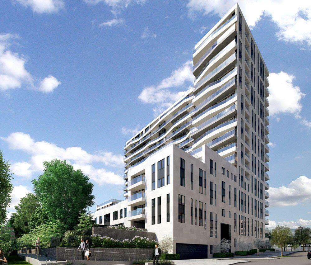 Axis Frankfurt In Frankfurt Am Main Neubau Wohnung Kaufen Neubaudirekt Wohnung Kaufen Hochhaus Immobilien