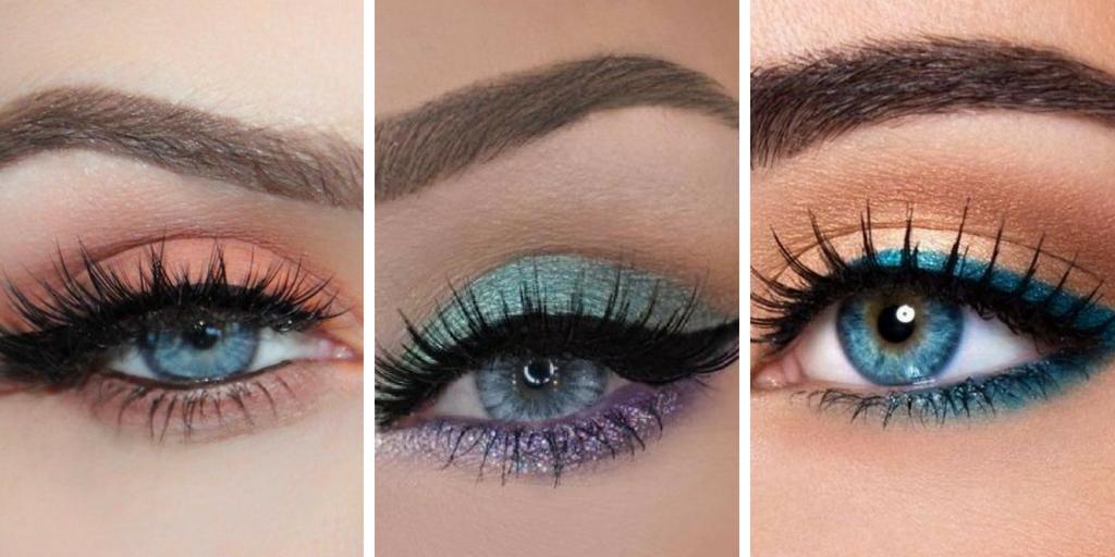 34 ideas de maquillaje para alegrar los ojos azules