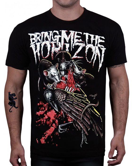 bd6b66836 The BRING ME THE HORIZON T-shirt. | ○BAND MERCH○ | Band shirts ...