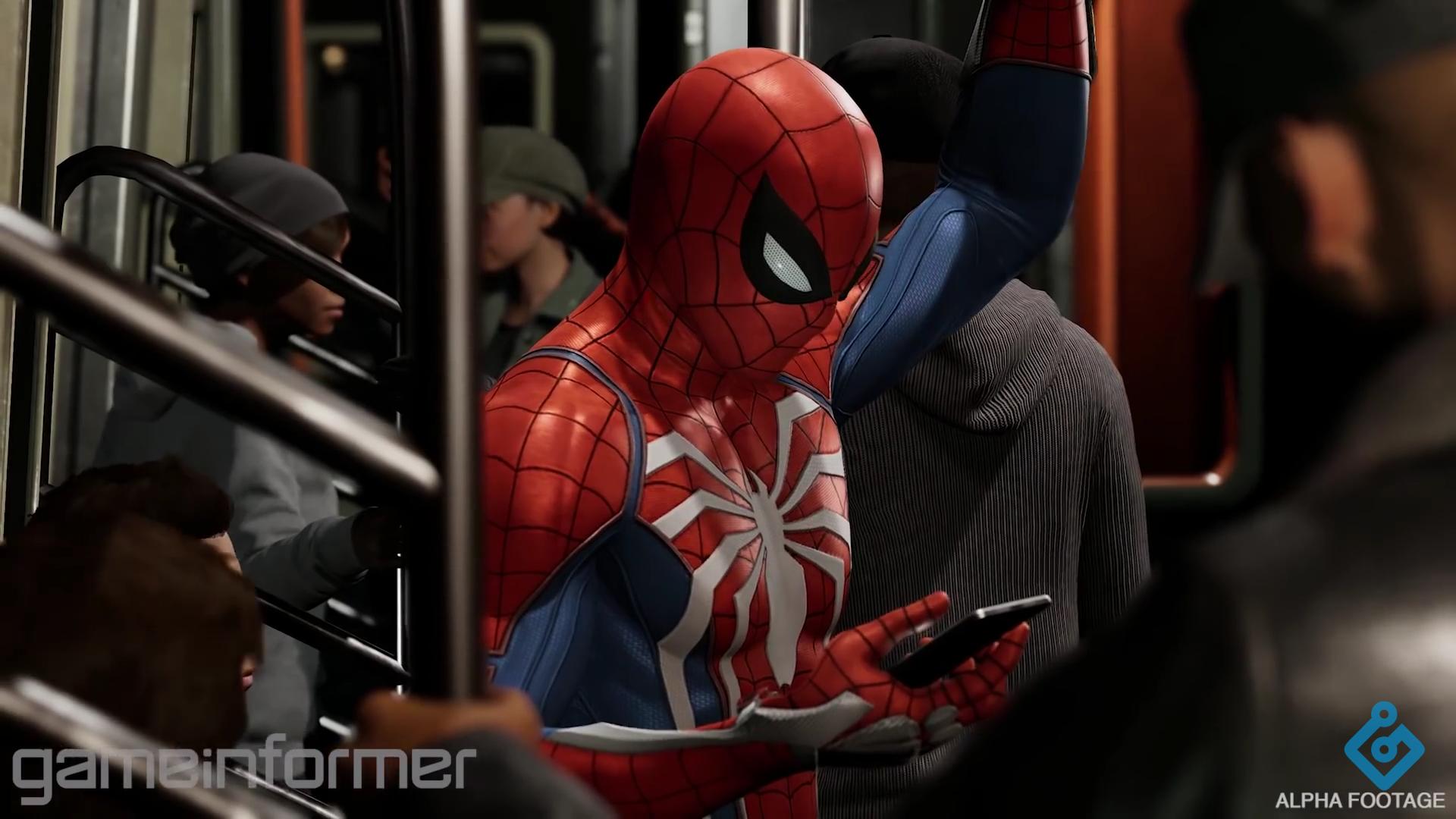 [Image]My favourite new Spiderman screenshot Spiderman