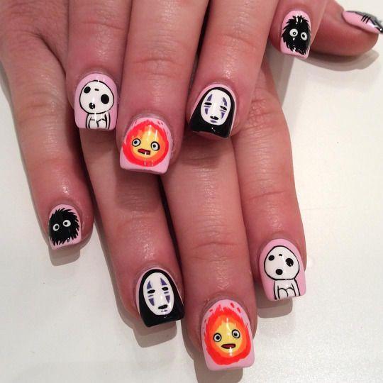 I Scream Nails Melbourne Nail Art Anime Nails Kawaii Nails Luxury Nails