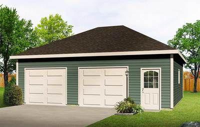 Image Result For Hip Roof Detached Garage Plans Garage Plans Detached Hip Roof Garage Plan