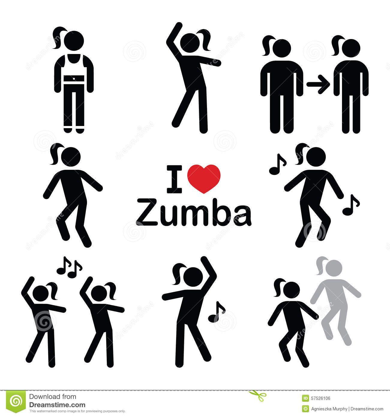 Fitness Zumba Dance Workout Gym Stock Photos Images Pictures 452 Images Zumba Zumba Dance Workouts Fitness Icon