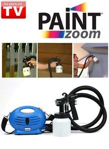 Paint Zoom Power Sprayer As Seen On Tv With Images Home Repair Power Sprayer