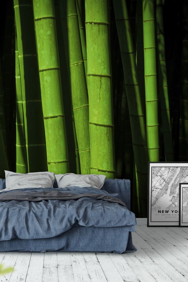 mossy forest wall mural wallpaper forest wall murals bamboo forest wall mural wallpaper