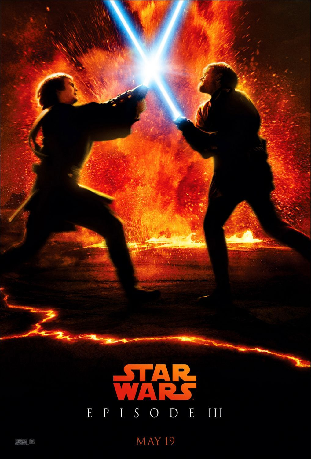 Star Wars Episode 3 Revenge Of The Sith Poster 4 Jpg 1018 1500 Star War Episode 3 Star Wars Watch Star Wars Episodes