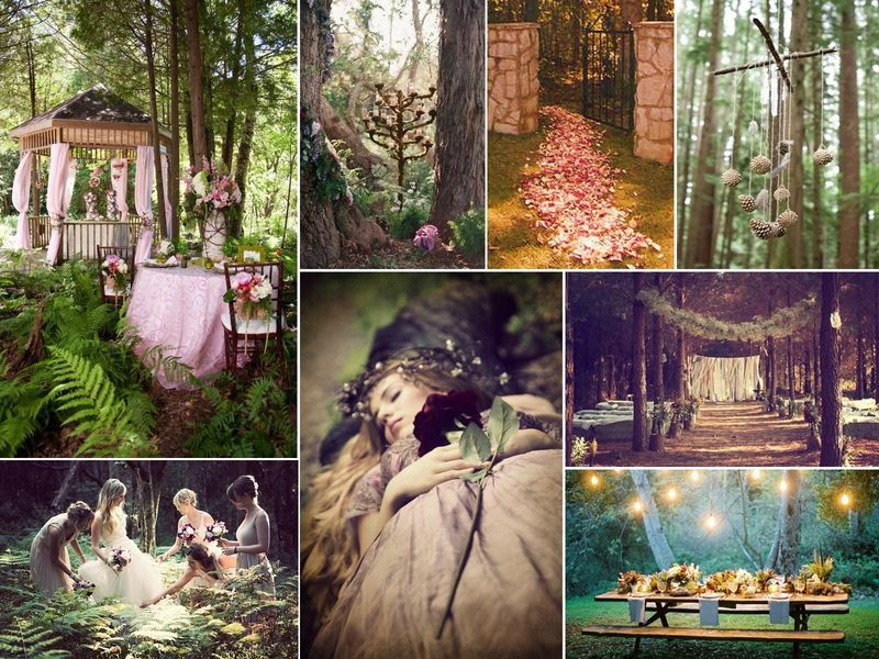 Mariage *Féerique à l\'orée du bois* - Mariage Rose Fantaisie ...