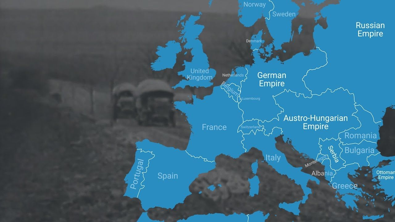 This animated map shows how world war i changed europes borders this animated map shows how world war i changed europes borders gumiabroncs Images