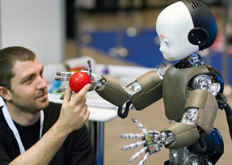 Iit Icub Innorobo2012 Robots Pinterest Robot
