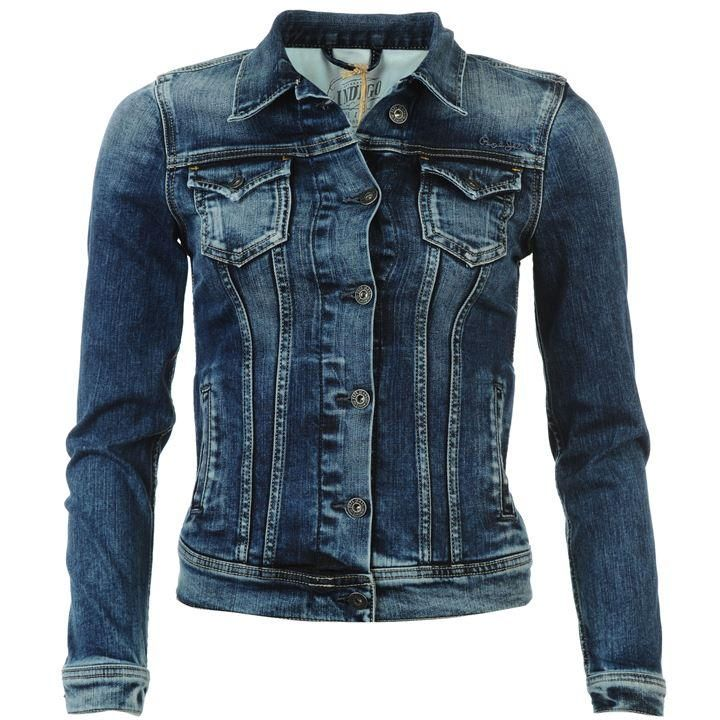 Pepe | Pepe Thrift Denim Jacket Ladies | Ladies Denim Jackets ...