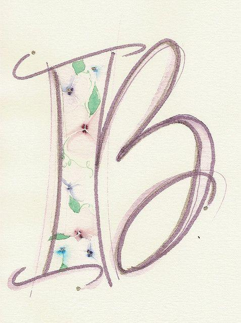 Textured Letter B   Flickr - Photo Sharing!