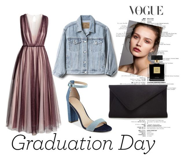 """Graduation Day"" by freyadallen ❤ liked on Polyvore featuring H&M, GUESS, Gap and Avon"