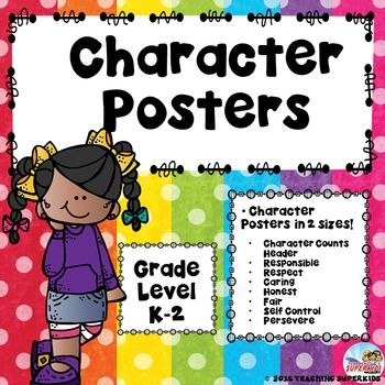 character posters kindness in the classroom pinterest