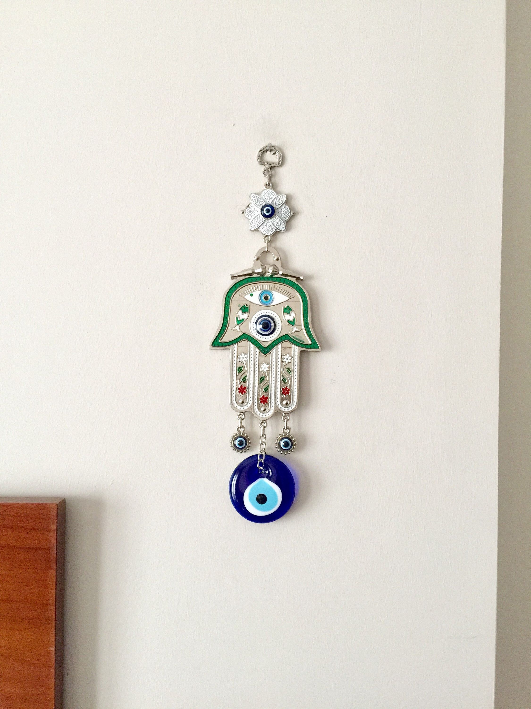 Hamsa And Evil Eye Wall Hanging