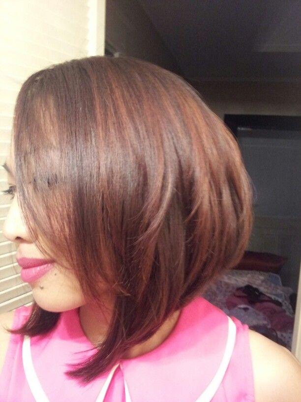 Asymmetrical Bob Got This Haircut Last Summer At Ulta Hair