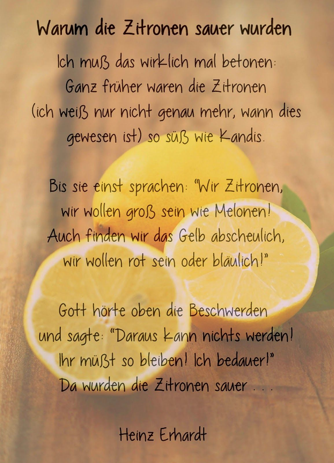 Welcome to the sweet side of life - Hier auf meinem
