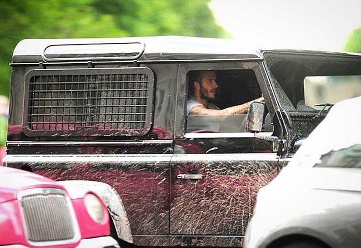 Instagram Photo By Tweaked Automotive May 28 2016 At 12 49pm Utc Land Rover Land Rover Defender David Beckham