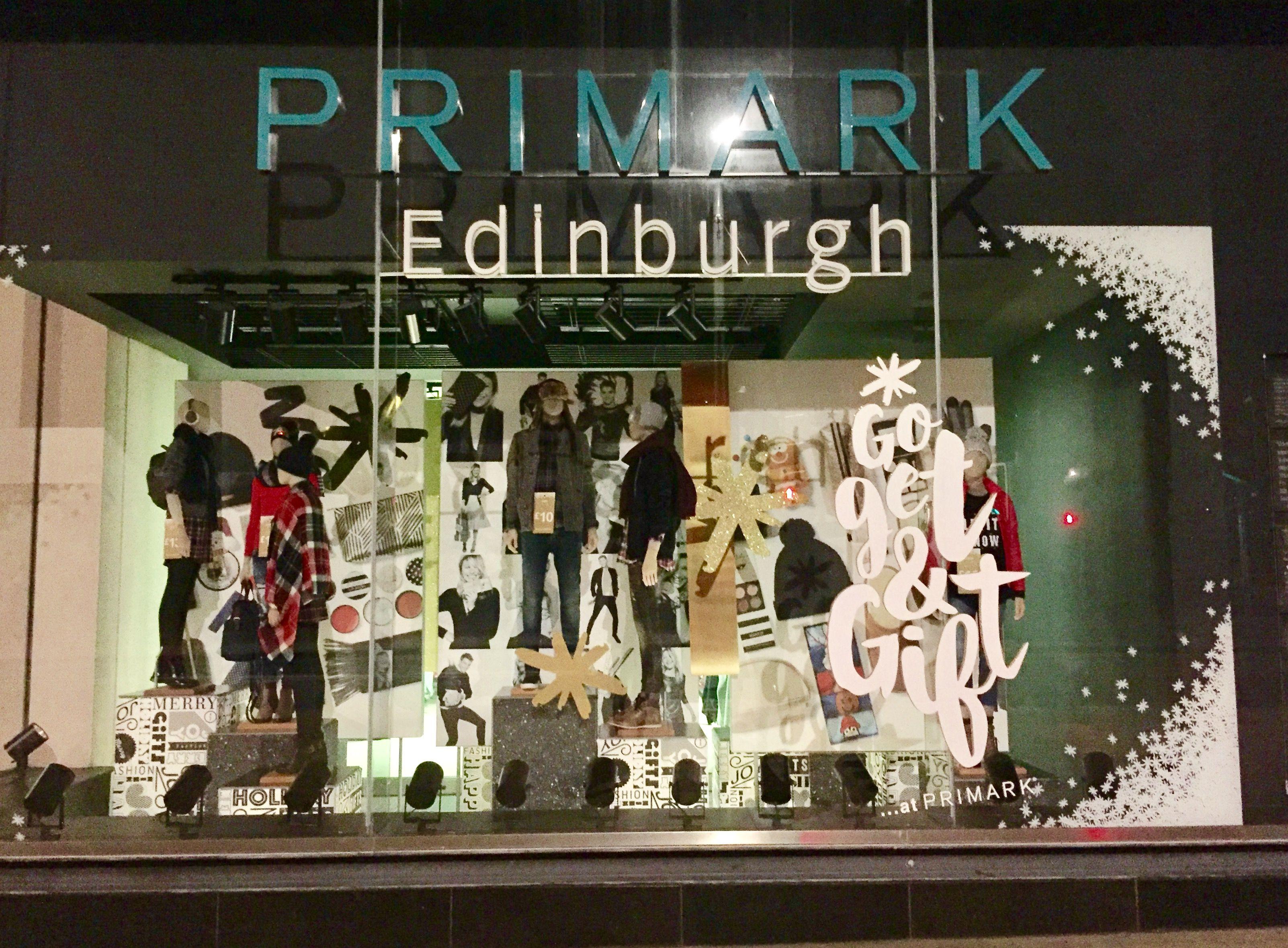 Primark Christmas 2016 Edinburgh