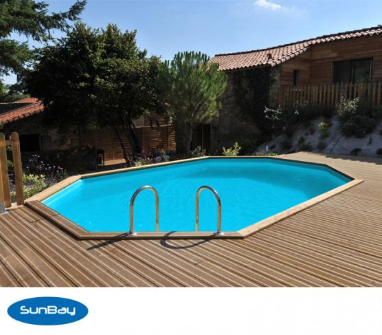 piscine bois piscine bois octogonale