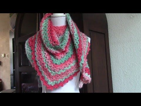 Haken Tutorial Nog Geen Herfstsjaal Youtube Crochet Shawls
